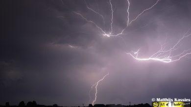 Photo of Kans op zware onweersbuien