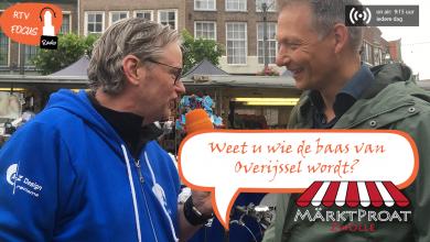 """Photo of RADIO Märtkpraot #13: """"Weet u wie de baas van Overijssel wordt?"""""""