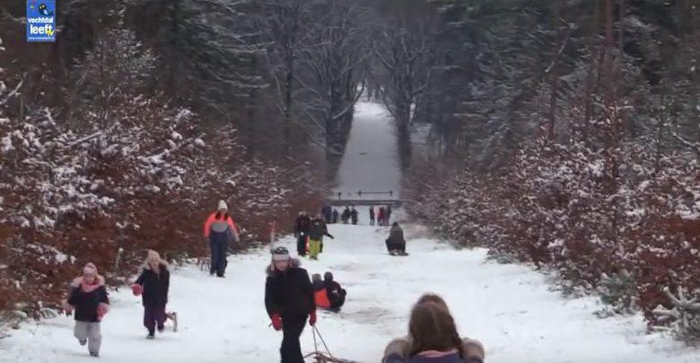 Photo of Video – Sleeën en langlaufen op de Lemelerberg