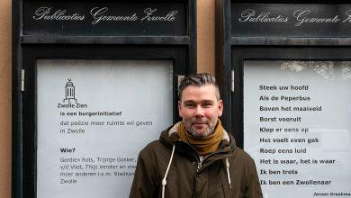 Photo of Jeroen Kraakman nieuwe Stadsdichter van Zwolle