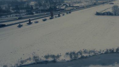 Photo of VIDEO – Magische sneeuwbeelden van de Vecht achter Berkum