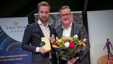 Photo of Schagen Infra B.V. winnaar van de Circulair Ondernemen Award Regio Zwolle 2018