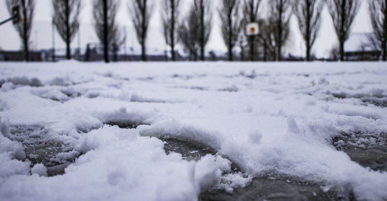 Photo of Basketbalveld in Stadshagen wordt omgetoverd tot ijsbaantje