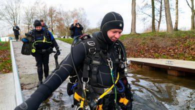 Photo of Zwolse onderwatersporters duiken het nieuwe jaar in