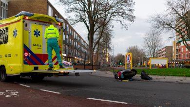 Photo of Man op scooter gewond door aanrijding op Hogenkampsweg