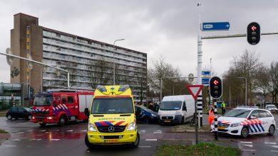 Photo of Veel blikschade na ongeval op Zwartewaterallee