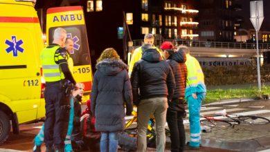 Photo of Scooterrijder gewond op rotonde Pannekoekendijk