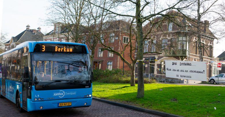 Photo of 'Dag Syntusbus … Voor jou, van ons, een afscheidskus! De Eekwallies'