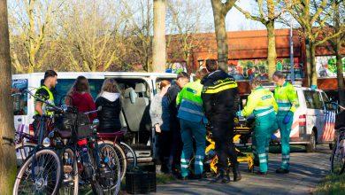 Photo of Fietser gewond na aanrijding op de Middelweg