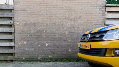 Photo of Granaatinslagen duidelijk zichtbaar; mobiele Crime Scene Unit weer vertrokken