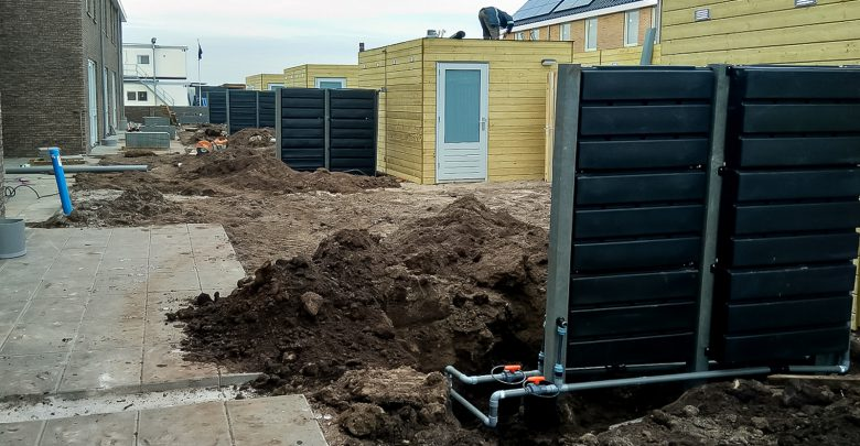 Photo of Regenwaterschuttingen maken tuinen in Breecamp-Noord klimaatbestendig