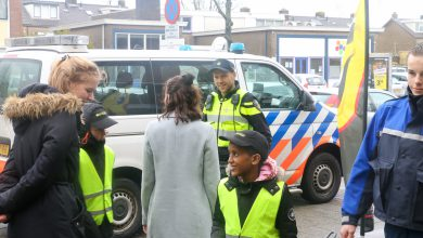 Photo of Politiekids doen examen in Westenholte