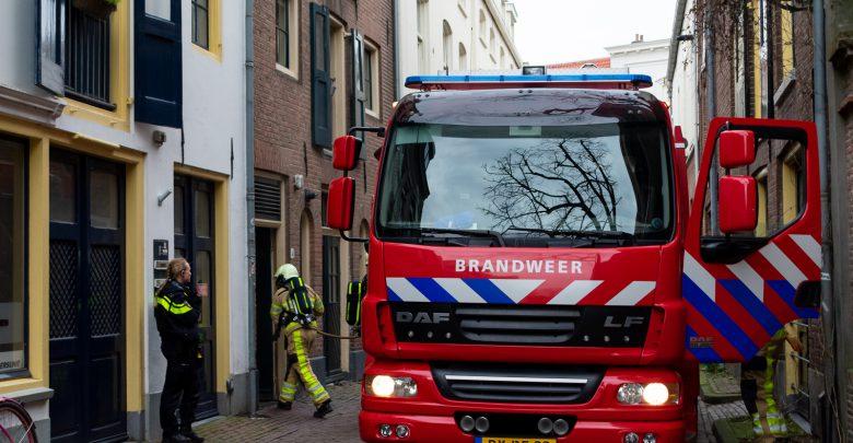 Photo of Keukenbrand in binnenstad snel onder controle