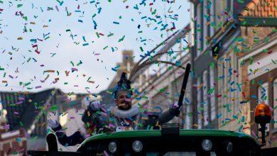 Photo of Verkeersstremming tijdens carnavalsoptocht