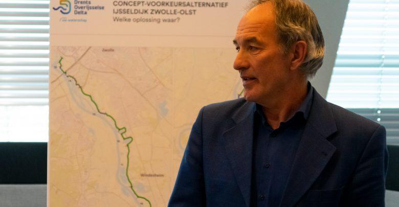 Photo of Waterschap presenteert plannen voor versterking van dijk tussen Zwolle en Olst