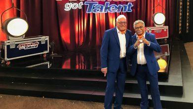 Photo of Henk en Mick doen auditie voor America's Got Talent