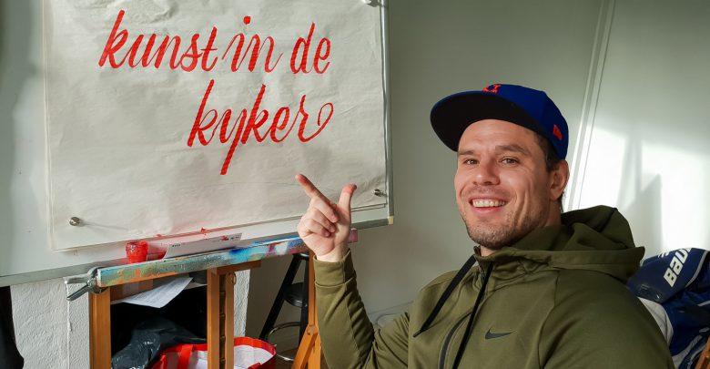 Photo of 'Kunst in de Kijker' met kunstenaar Jerry van der Bol #13