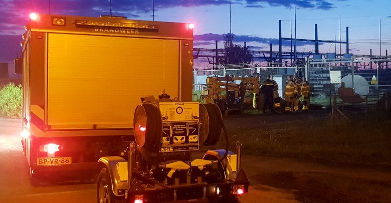 Photo of Hoogspanningstransformator ontploft aan IJsselcentraleweg