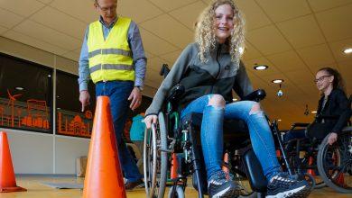 Photo of Brugklasleerlingen bezoeken verkeersmarkt op Carolus Clusius College