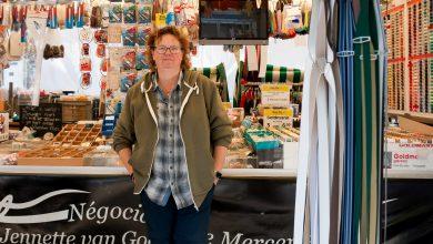 Photo of Marktkoopvrouw Jennette van Goor is van alle markten thuis