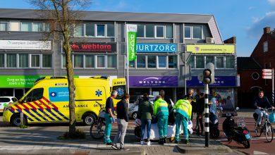 Photo of Vrouw op scooter gewond bij aanrijding op Nieuwe Veerallee