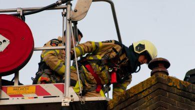 Photo of 'Fata morgana' lokt brandweer naar Assendorp