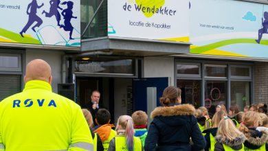 Photo of Leerlingen De Kopakker ruimen zwerfvuil op in Stadshagen