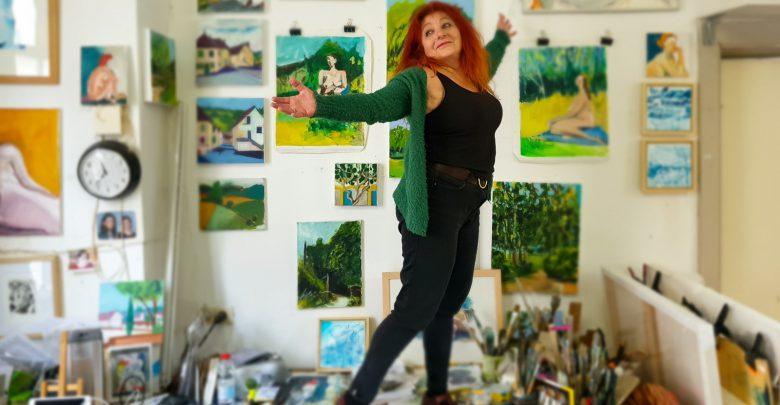 Photo of 'Kunst in de Kijker' met kunstenares Tali Farchi #19