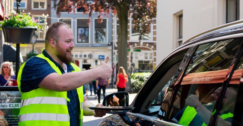 Photo of Chocolaatje voor 'nette' automobilisten op Nieuwe Markt