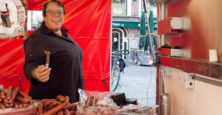 Photo of Marga Verwoert staat al op markt sinds ze kan lopen