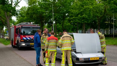 Photo of Autobrand Zwartewaterallee blijkt pechgeval