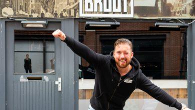 Photo of 2000 liter Bruut bier staat klaar aan de Voorstraat