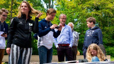 Photo of Zwolse Maud van zonnerace-team even terug op oude school