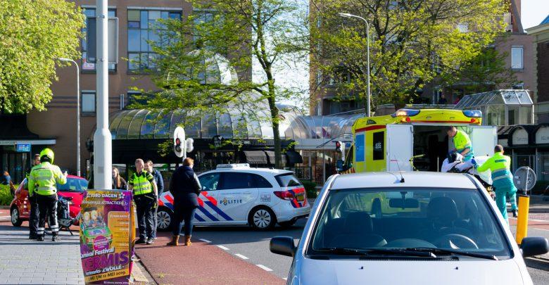 Photo of Fietser gewond bij botsing Diezerkade