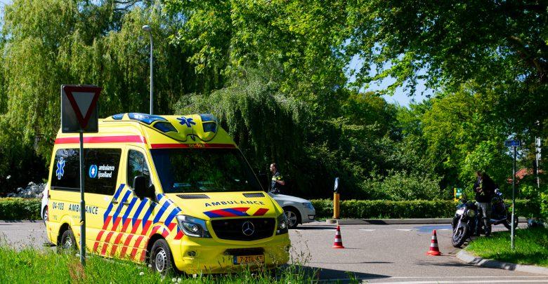 Photo of Motorrijder lichtgewond bij verkeersongeluk op Spoolderbergweg