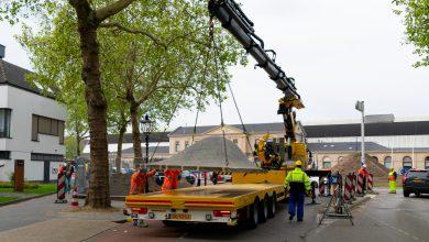 Photo of Kunstwerk Swol naar Zoetermeer getransporteerd