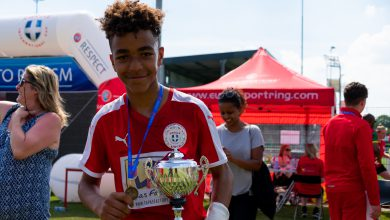 Photo of In beeld: Voetbalplezier en zweet tijdens Zwolle International Cup 2019