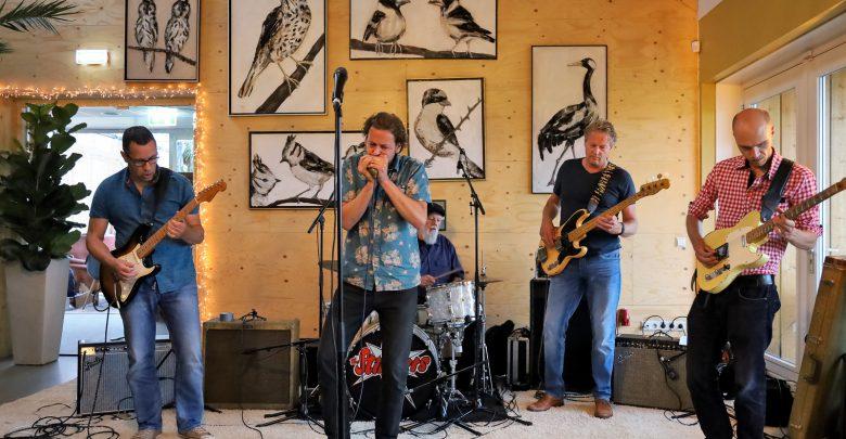 Photo of Bluesworld Café gemist, 2019-06-04 The Stingers live in Milligers Zwolle