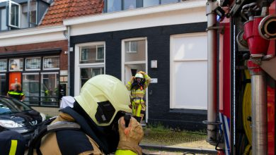 Photo of Kat gered bij woningbrand Kamperpoort