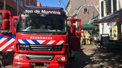 Photo of Opnieuw gevulde wasmand in brand in Zwolse wasserette