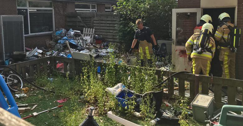 Photo of Jongen lichtgewond bij schuurbrand Zwolle-Zuid