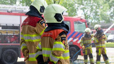 Photo of Brandweer Zwolle staat stil bij omgekomen brandweercollega's