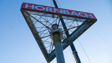 Photo of Hornbach-mast geplaatst langs Blaloweg