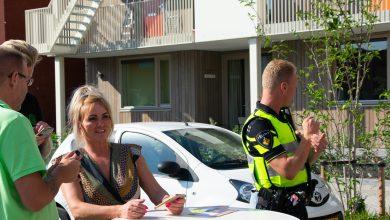 Photo of In beeld: Gezellig bijeenkomst met nieuwe buren in Kamperpoort