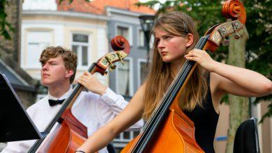 Photo of In beeld: Tropisch zomeravondconcert Jeugdsymfonieorkest de Vuurvogel in centrum