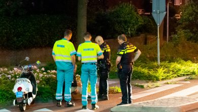 Photo of Scooterrijder gewond na val Wipstrikkerallee