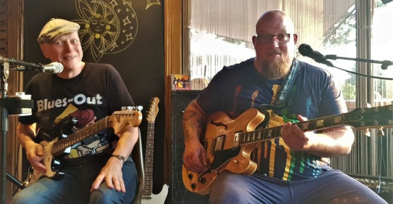 Photo of Bluesworld Pub met Jon Meyerjon en Lars Müller, 2019-06-18