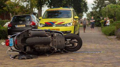 Photo of Scooterrijder ernstig gewond door valpartij Westenholte