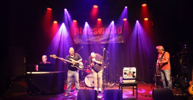 Photo of Bluesworld Café met The Bluesville's, 2019-07-02