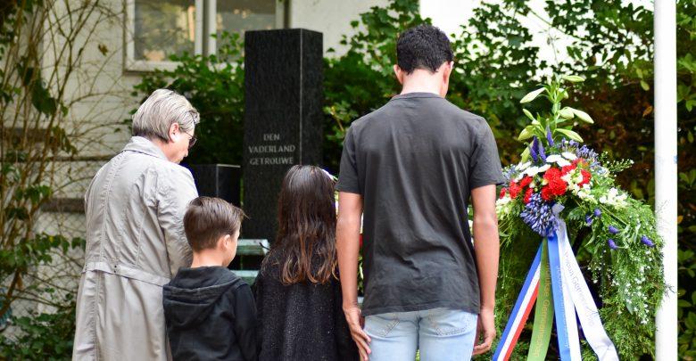 Photo of Herdenking gevallenen Oost-Azië 15 augustus in Park Eekhout